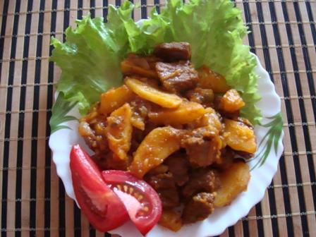 мультиварка рецепты азу из говядины