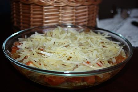 кабачки под сыром
