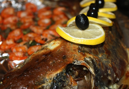 Царская праздничная рыба