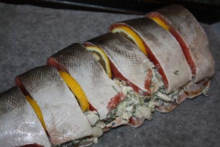 рыба с начинкой