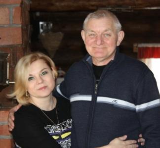 Таня с папой