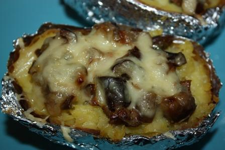 Крошка-картошка с грибами