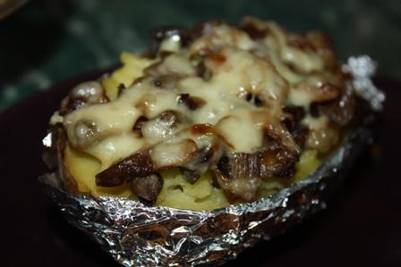 крошка -картошка с грибами